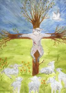 Sacrifice de l'agneau pascal