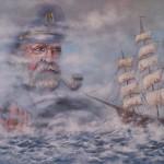Capitaine et son Bateau de Louis Montillet