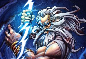 Zeus dieu de la foudre